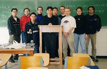 Robot Club in UBC 1999